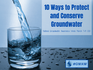 10 Tip to Protect and Conserve Groundwater