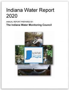 Cover page of Indiana Water Report 2020